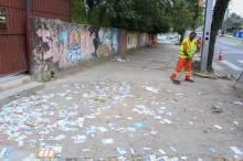 No domingo, 774 garis far�o a limpeza da cidade a partir das 17h