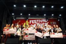 Doze bandas finalistas reuniram grande público no evento de domingo