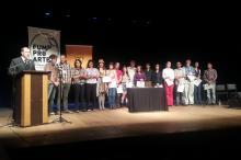 Profissionais de várias áreas da Cultura receberam diplomas na cerimônia