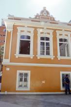 Casa de dois andares foi totalmente restaurada