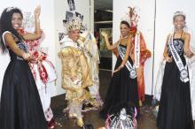 Corte do Carnaval estará no parque para divulgar os bailes de salão