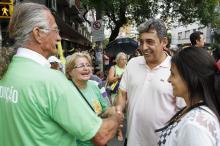 Vice-prefeito Sebastião Melo destacou a participação de muitas famílias