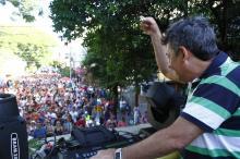 Vice-prefeito Sebastião Melo saudou os foliões