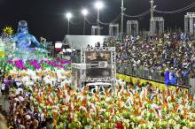 Estrutura para os desfiles foi ampliada e modernizada para receber o público