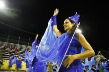 Escola de Samba da Glória encerrou o desfile do Grupo de Acesso