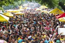 O público estimado é de 20 mil pessoas