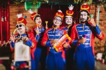 Orquestra de Brinquedos começa às 16h, na Sala Sala Álvaro Moreyra