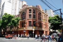 Capital é uma das poucas cidades a contar com um grande cinema de rua