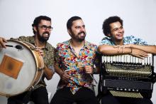 Trio Dona Zefa, de São Paulo, é uma das atrações do encontro