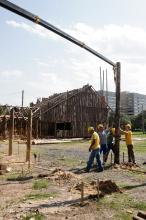 Construção dos galpões inicia neste sábado, 22