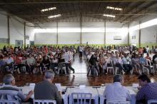 Participaram da assembleia 1.264 moradores da comunidade