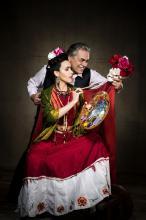 Pe�a traz a hist�ria da rela��o entre Frida Kahlo e Diego Rivera
