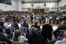 Mais de 700 pessoas da comunidade participaram da plenária