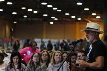 Cerca de duas mil pessoas participaram da assembleia regional
