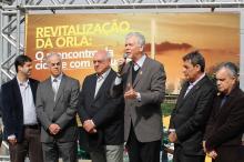 Fortunati salientou que a obra soma-se ao Pisa e à revitalização do Cais Mauá