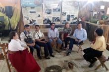 Guia turístico explicou a ligação do gaúcho com o campo e suas tradições