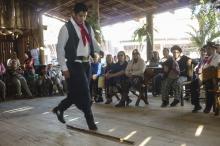 Oficina de danças tradicionais gaúchas é um dos destaques da programação