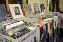 Mostra oferece discos raros de músicos gaúchos