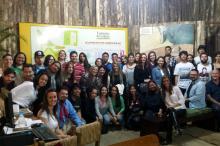 Universitários conheceram o Turismo de Galpão durante o evento tradicionalista