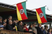 Autoridades acompanharam o tradicional festejo do 20 de Setembro