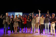 Vencedor de cada categoria ganhou um troféu criado por Xico Stockinger