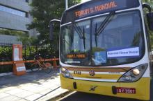 Ônibus especial Fórum Social tem passe livre para pessoas inscritas no evento