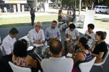 Debate abriu os trabalhos na Tenda Porto Alegre, no Parque Farroupilha