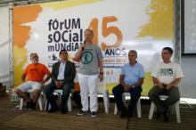 Atividade no FSM fez um balanço da iniciativa promovida pela prefeitura
