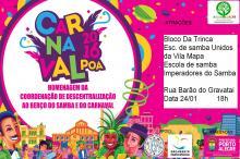 Samba em Porto Alegre surgiu em bairros pobres como o Areal da Baronesa
