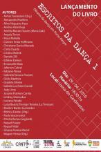 Escritos da Dança será lançado nesta sexta-feira