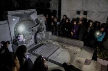 O Cemitério da Santa Casa possui um importante conjunto de arte