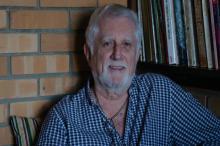 Sergio Napp é um dos escritores homenageados pela Coordenação do Livro e da Literatura