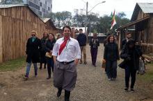 Turistas do Japão, Uruguai, São Paulo e Foz do Iguaçu estiveram no passeio
