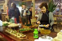 Convidados degustaram pratos regionais criados pela leitura de  chefs gaúchos