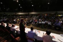 Plenária ocorreu no Centro de Eventos Casa do Gaúcho, com 812 credenciados