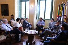 Reunião debate parcerias na cultura