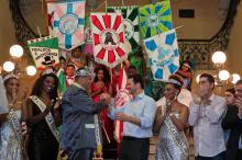 Abertura oficial do Carnaval de Porto Alegre 2017, com a entrega da chave da cidade ao Rei Momo