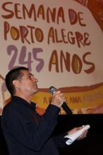 Nesta manhã ocorreu o lançamento da Semana de Porto Alegre