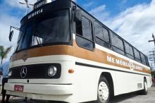 Ônibus-museu apresenta a história da Companhia Carris