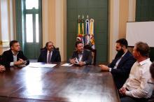 Prefeito Marchezan assinou Termo de Cooperação com Bruno Pereira Diretor Sócio da Radar PPP