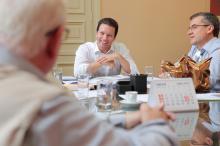 Audiência com o presidente do MTG, Nairioli Antunes, e diretoria