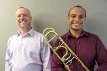Os convidados são o trombonista José Milton Vieira e o pianista Paulo Bergmann