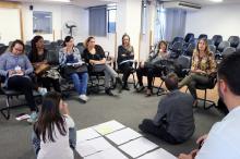 No encontro, profissionais apontaram problemas e sugeriram soluções