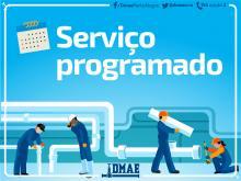 Serviço faz parte das intervenções para implantação da adutora Antônio Borges