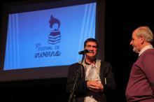 Alabarse (E) e Gonzaga (D) enalteceram o esforço para a retomada do Festival