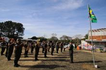 Presença do Exército foi uma das novidades do programa neste sábado