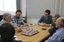 Secretário assegurou que os encontros dos autores com os alunos serão mantidos