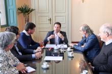 Marchezan destacou o início da parceria com a Câmara Rio-Grandense do Livro