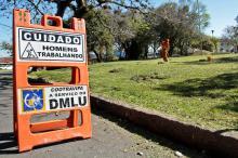DMLU é o responsável pela manutenção das praças desde outubro de 2016