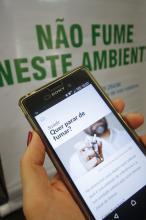 Funcionalidade Quero Parar de Fumar está disponível em Android e IOS
